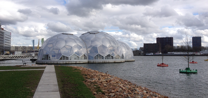 1. Rotterdam floating pavillion
